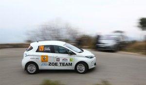 e-Rallye Monte-Carlo 2016: Adriana Karembeu en Renault Zoé