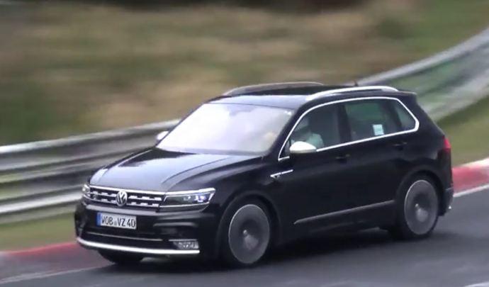 Volkswagen : un drôle de Tiguan en préparation