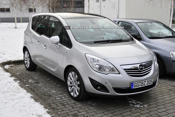 Nouvel Opel Meriva : déjà dans la circulation