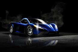 Salon de Dubaï 2009 : la supercar hybride Kepler Motion