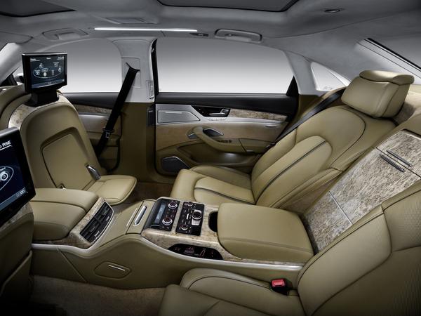 Premières images de la nouvelle Audi A8 L