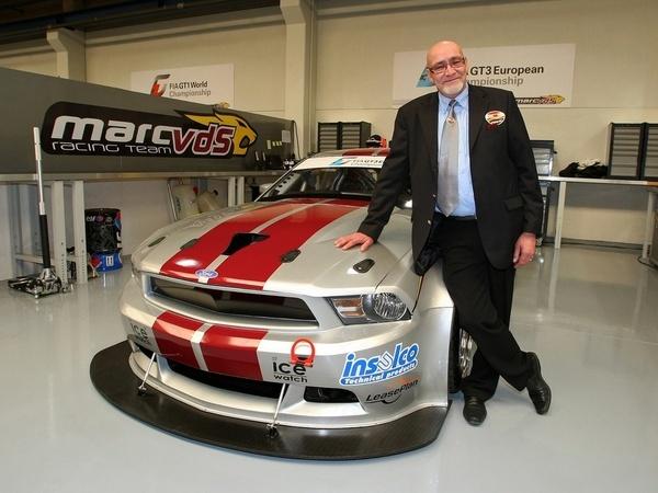 La Ford Mustang GT3 du MarcVDS Racing Team