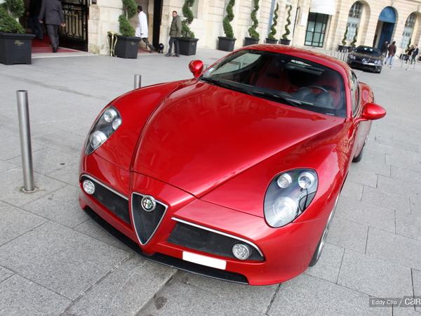 Photos du jour : Alfa Romeo 8C Competizione