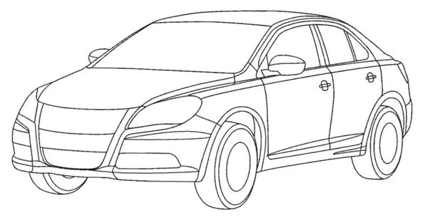 Future suzuki kizashi le dessin brevet - Dessin d un car ...