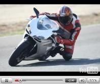 Ducati 848 : les vidéos à Almeria (Espagne)