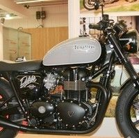 En direct du Salon de la Moto: Triumph Bobster by Mécatwin.