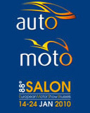 Salon de Bruxelles 2010 : le stand BMW en mode hybride