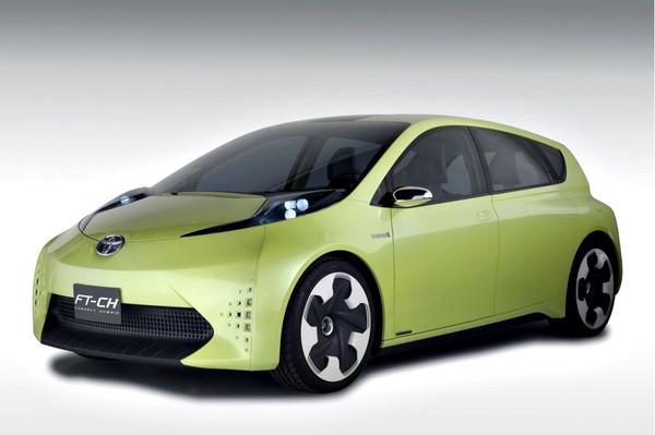 Détroit 2010 : Toyota FT-Ch concept, mini Prius