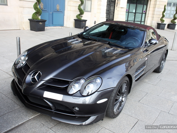 Photos du jour : Mercedes McLaren SLR 722S