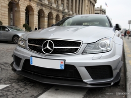 Photos du jour : Mercedes C63 AMG Black Series