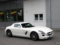 Photos du jour : Mercedes SLS AMG