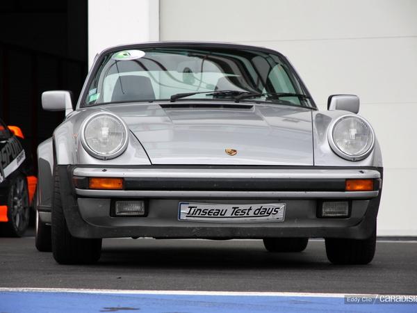 Photos du jour : Porsche 911 Turbo 3,3l (Tinseau test Day)