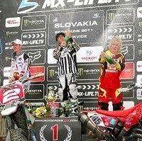 MX3/WMX - Slovaquie : Julien Bill et Steffi Laier ... encore !