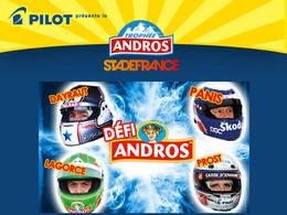 Trophée Andros au Stade de France: le défi Andros; c'est dans une semaine