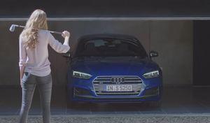 Audi fait preuve d'originalité pour faire la pub de la S5 Sportback