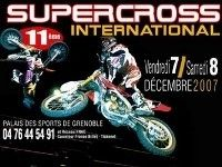 Le Supercross International passe à Grenoble ce week-end !