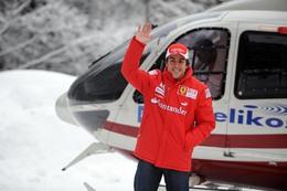Première : Fernando Alonso en rouge