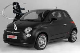 Studiotorino Fiat 500 Diabolika : vade retro satanas