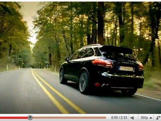 [vidéo] le nouveau Porsche Cayenne s'évade