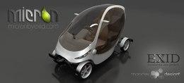 Un nouveau projet de véhicule urbain électrique : la Micron by Exid