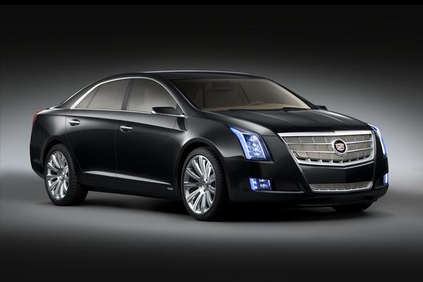 Detroit 2010 : Cadillac XTS Platinum Concept