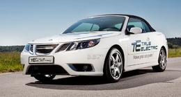 Des véhicules électriques testés en Suède en 2010 : les ZE Saab 9.3