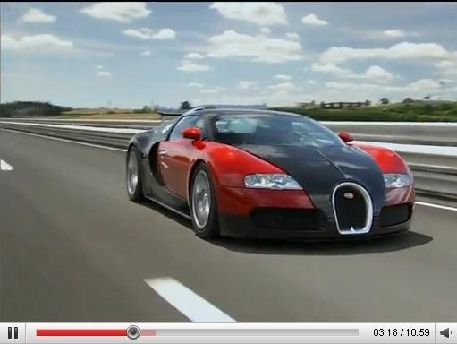 Bugatti Veyron, la genèse en vidéos HD
