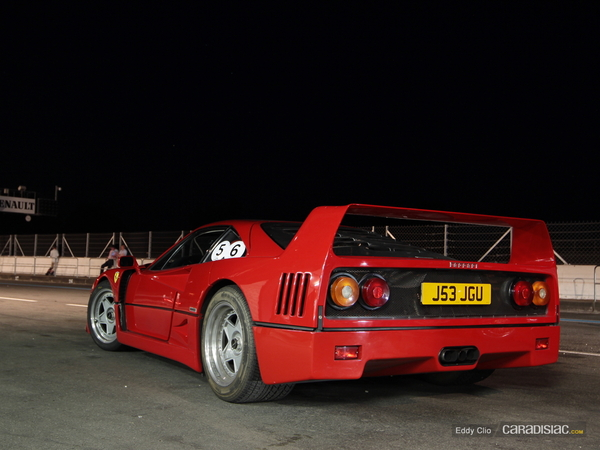 Photos du jour : Ferrari F40 (Sport & Collection)