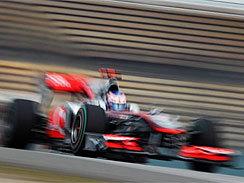 F1-GP de Chine: Magnifique victoire de Button sous la pluie !