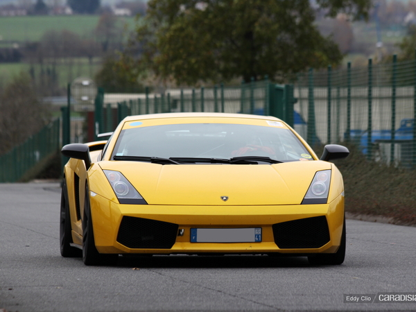 Photos du jour : Lamborghini Gallardo Superleggera (Tinseau Test Day)