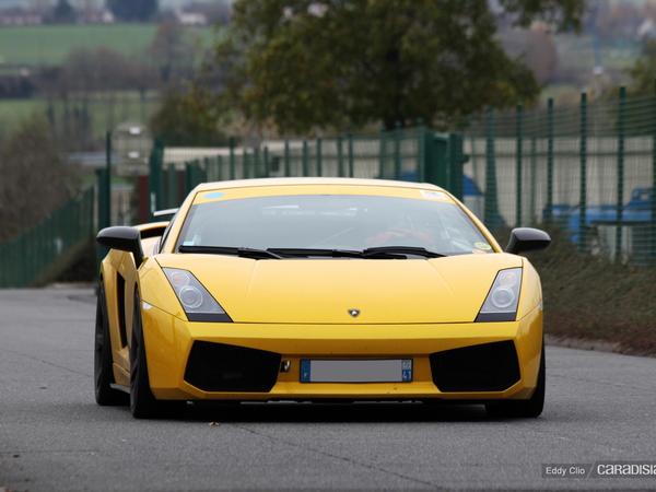 Photos du jour : Lamborghini Gallardo Superleggera (Tinseau Test Day)