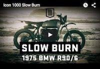 Icon 1000 Slow Burn (vidéo)