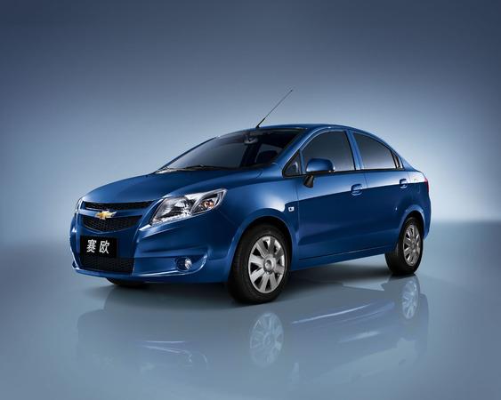 Pas à Détroit 2010 : nouvelle Chevrolet Sail, la Logan americano-chinoise