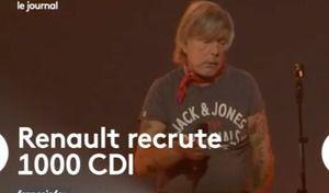 Insolite: quand France Info confond Renault et le chanteur Renaud