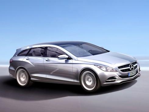 Mercedes prépare une CLS Estate!