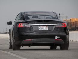 Une version quatre roues motrices de la Tesla Model S en préparation ?