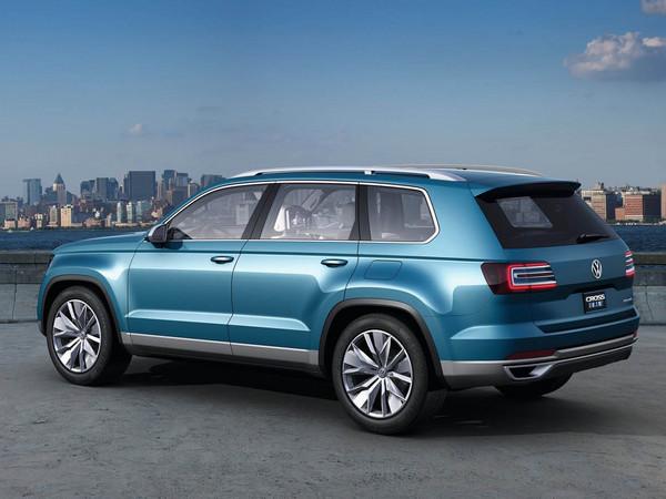Volkswagen : un nouveau concept de SUV à venir au salon de Detroit