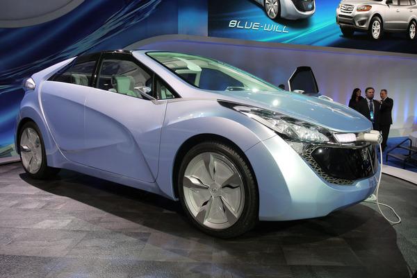 Detroit 2010 : Hyundai Blue-Will Concept, toujours là