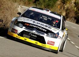 WRC : Petter Solberg repart en Citroën C4 WRC