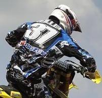 Valentin Teillet de retour sur sa 250 Suzuki au GP de Suède