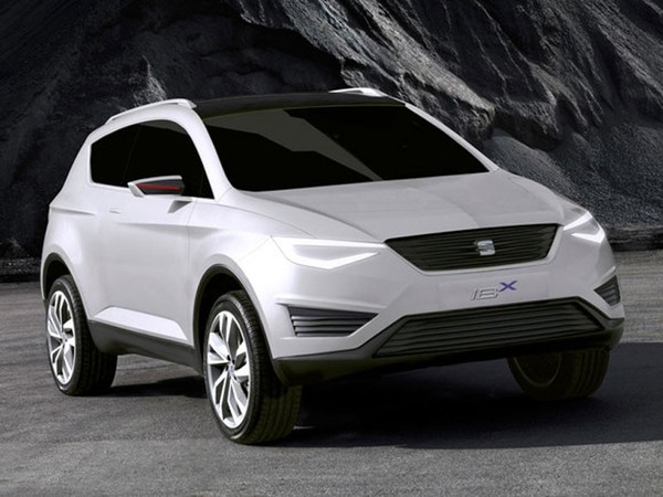 Genève 2011 : le concept Seat IBX en fuite