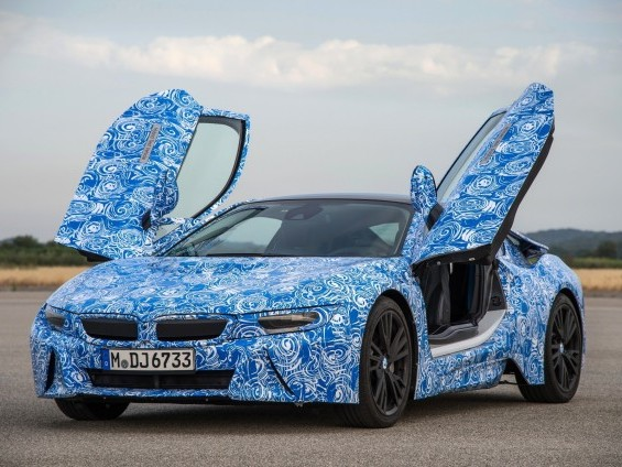 BMW dévoile la fiche technique de la i8 !