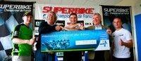 Championnat de France Superbike au Vigeant (86): Erwan Nigon bat le record de la piste.