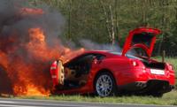 Un 'burn' en Ferrari F599 GTB Fiorano