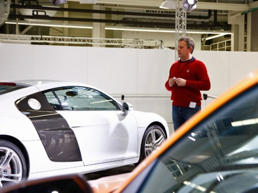 Une Audi R8 allégée en préparation?