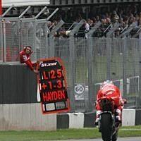 Moto GP - Ducati: Hayden restera-t-il ?