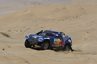 Dakar 2010, 10ème étape: Première victoire pour Sainz !