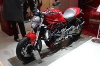 Vidéo en direct du salon de la moto :  Ducati Monster 1200 et 1200 S