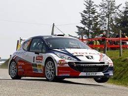 Lyon-Charbonnières: Robert impose la 307 WRC, Bouffier sa 207 S2000