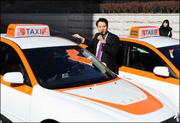 10 taxis hybrides expérimentés en Corée du Sud